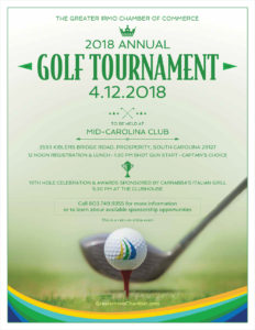 Greater Irmo Chamber of Commerce Golf Tournament