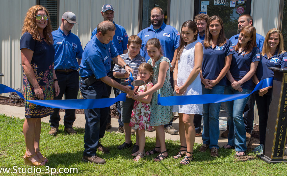 Kay Plumbing Ribbon Cutting