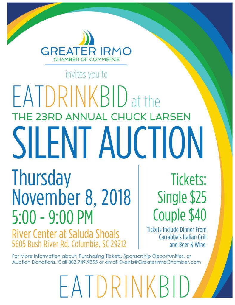 23rd Annual Chuck Larsen Silent Auction